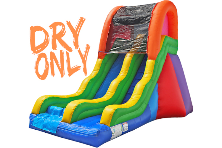 17' Single Fun Slide (Dry)