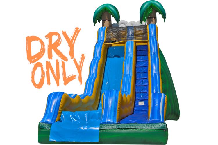 17' Single Tropical Slide (Dry)