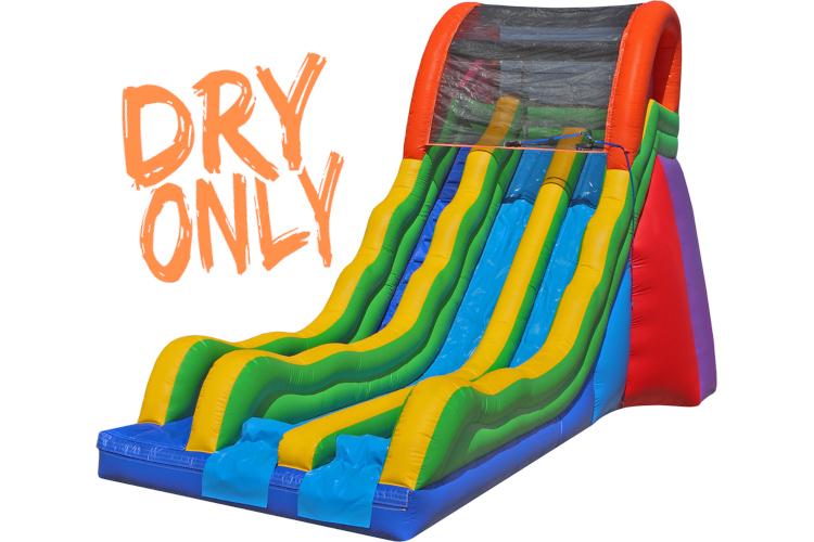 17' Dual Fun Slide (Dry)