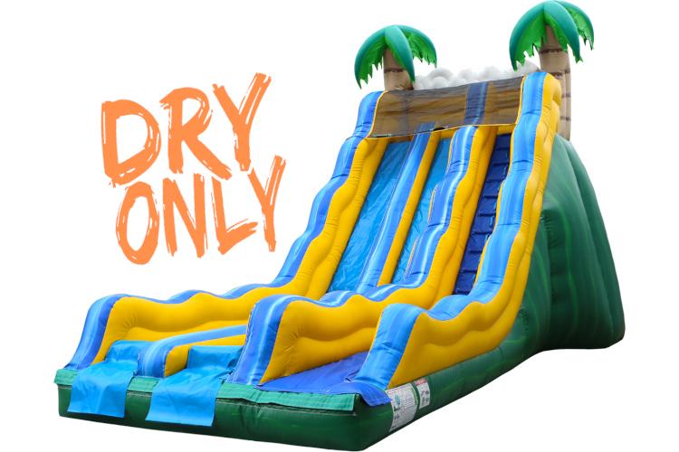 17' Dual Tropical Slide (Dry)