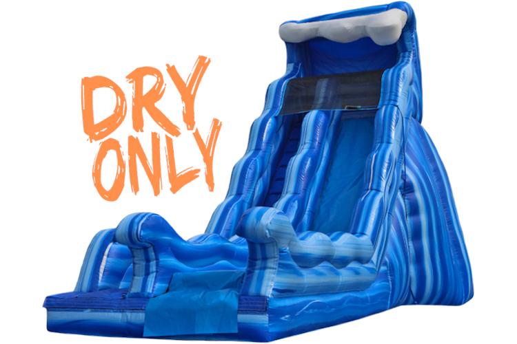 17' Single Wave Slide (Dry)