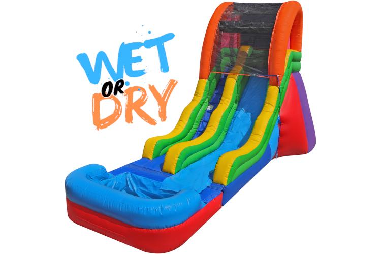 Single Fun Slide 17' (Wet)