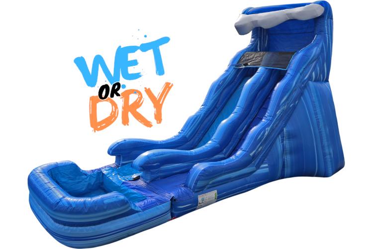 Single Wave Slide 17' (Wet)
